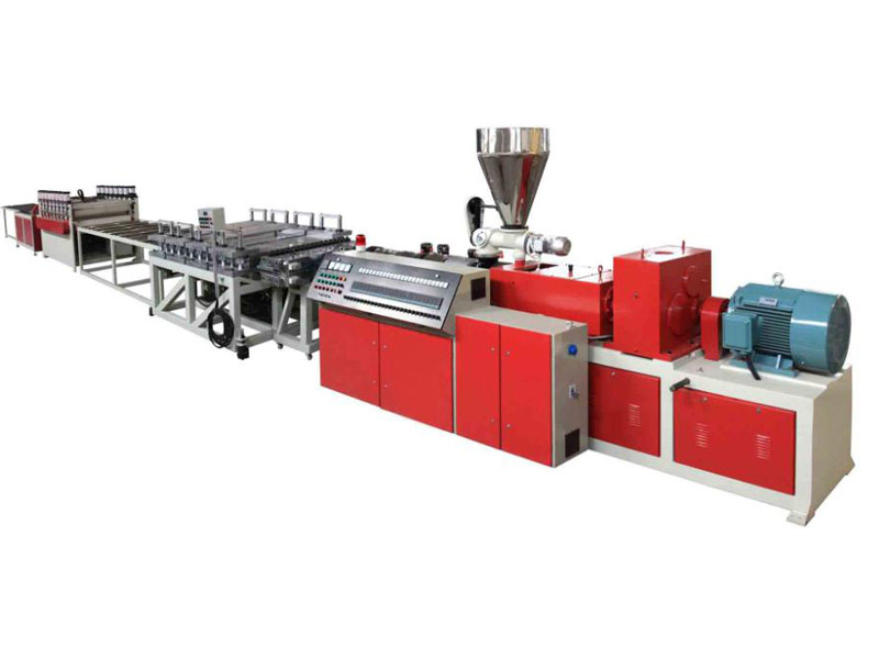 PE,PP And Wood, PVC And Wood (Foamed) Panel Extrusion Line