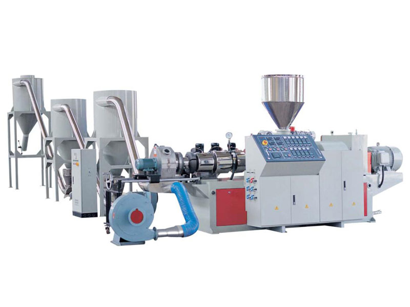 SJZ Series Counter Rotation Conical Twin-screw Pelletizing Extrusion Line